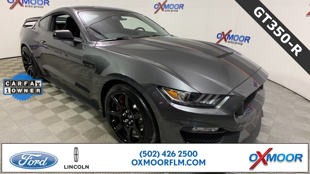 Pre-Owned 2019 Ford Mustang Shelby GT350 R RWD 2D Coupe