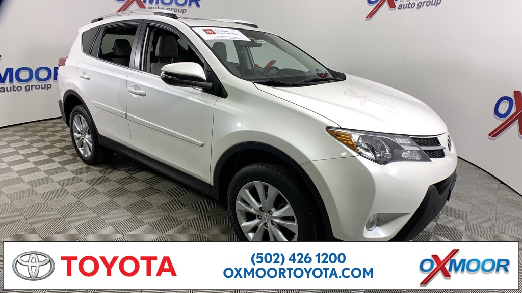 Oxmoor Toyota Service >> Pre Owned 2013 Toyota Rav4 Limited Awd