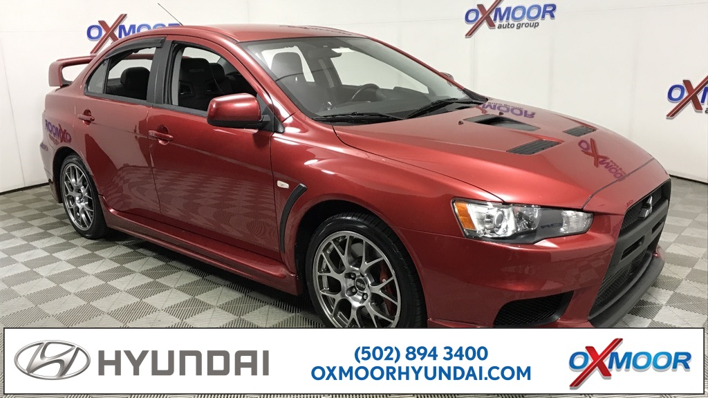 Elegant Pre Owned 2008 Mitsubishi Lancer Evolution MR