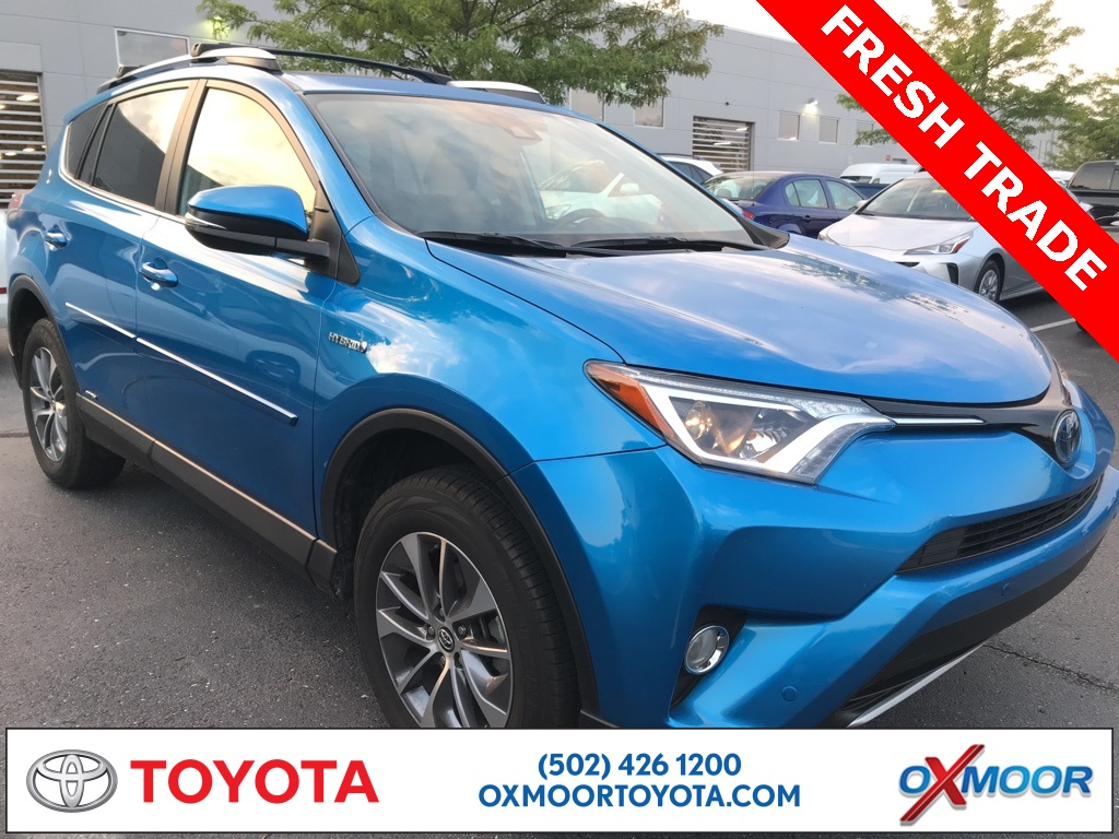 Oxmoor Toyota Service >> Pre Owned 2016 Toyota Rav4 Hybrid Xle Awd