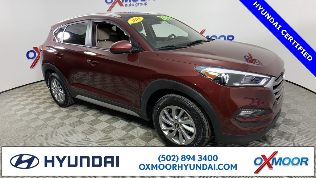Hyundai Certified Pre-Owned >> Certified Pre Owned 2018 Hyundai Tucson Sel Awd