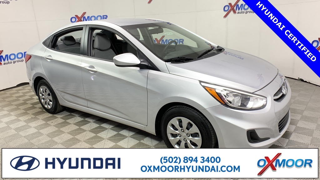 Hyundai Certified Pre-Owned >> Certified Pre Owned 2017 Hyundai Accent Se 4d Sedan In Louisville