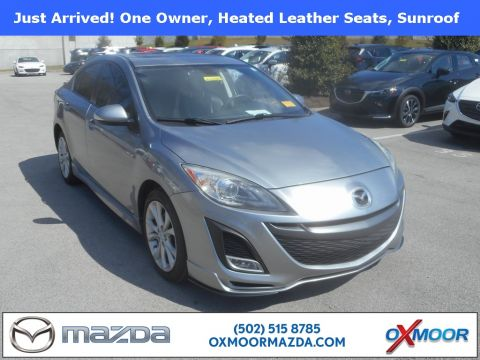 Pre-Owned 2010 Mazda3 4D Sedan s Grand Touring