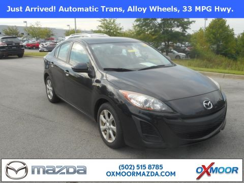 Pre-Owned 2010 Mazda3 4D Sedan i Touring