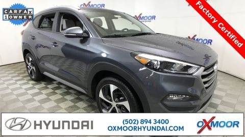 Certified Pre-Owned 2017 Hyundai Tucson Sport