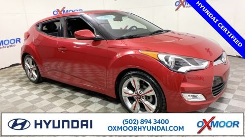 Certified Pre-Owned 2017 Hyundai Veloster Value Edition